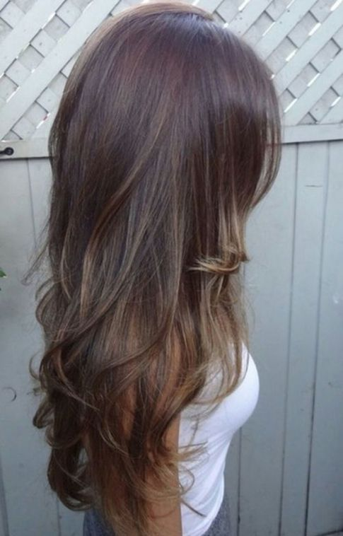 long hair styles for women... Like the long layered cut..