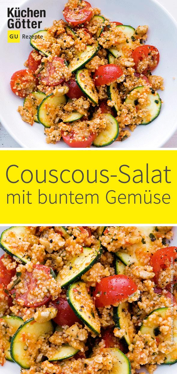 Couscous-Gemüse-Salat #zucchinipastarecipes