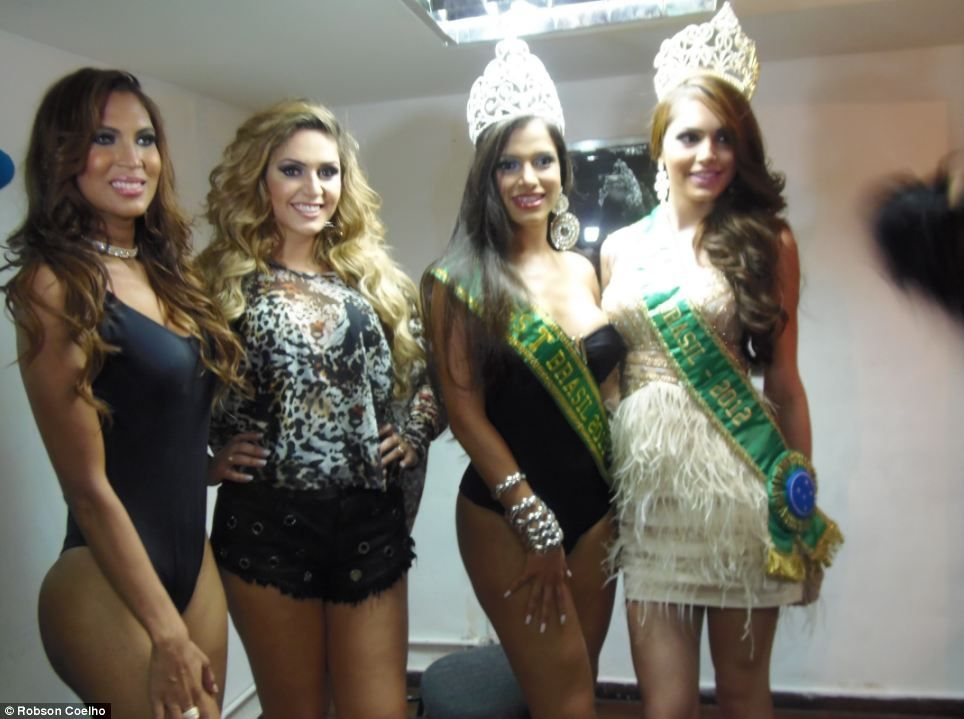 Beauty queens transsexual