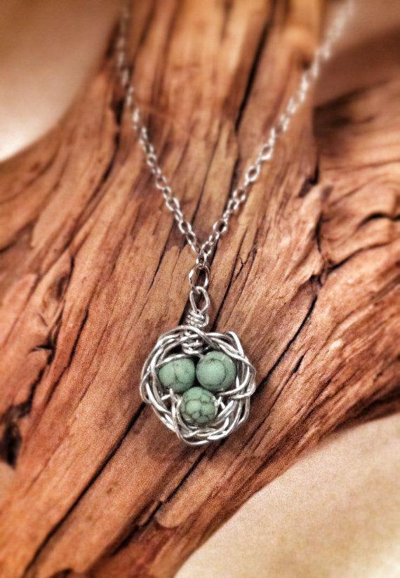 Diy birds nest pendant necklace crafts little projects diy birds nest pendant necklace aloadofball Choice Image