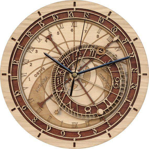 Praga Cronometro Exorbitante En El Suelo De Madera De Estampacion Limitada De Produccion Incl Reloj Grande Reloj Astronomico De Praga Relojes De Pared Grande