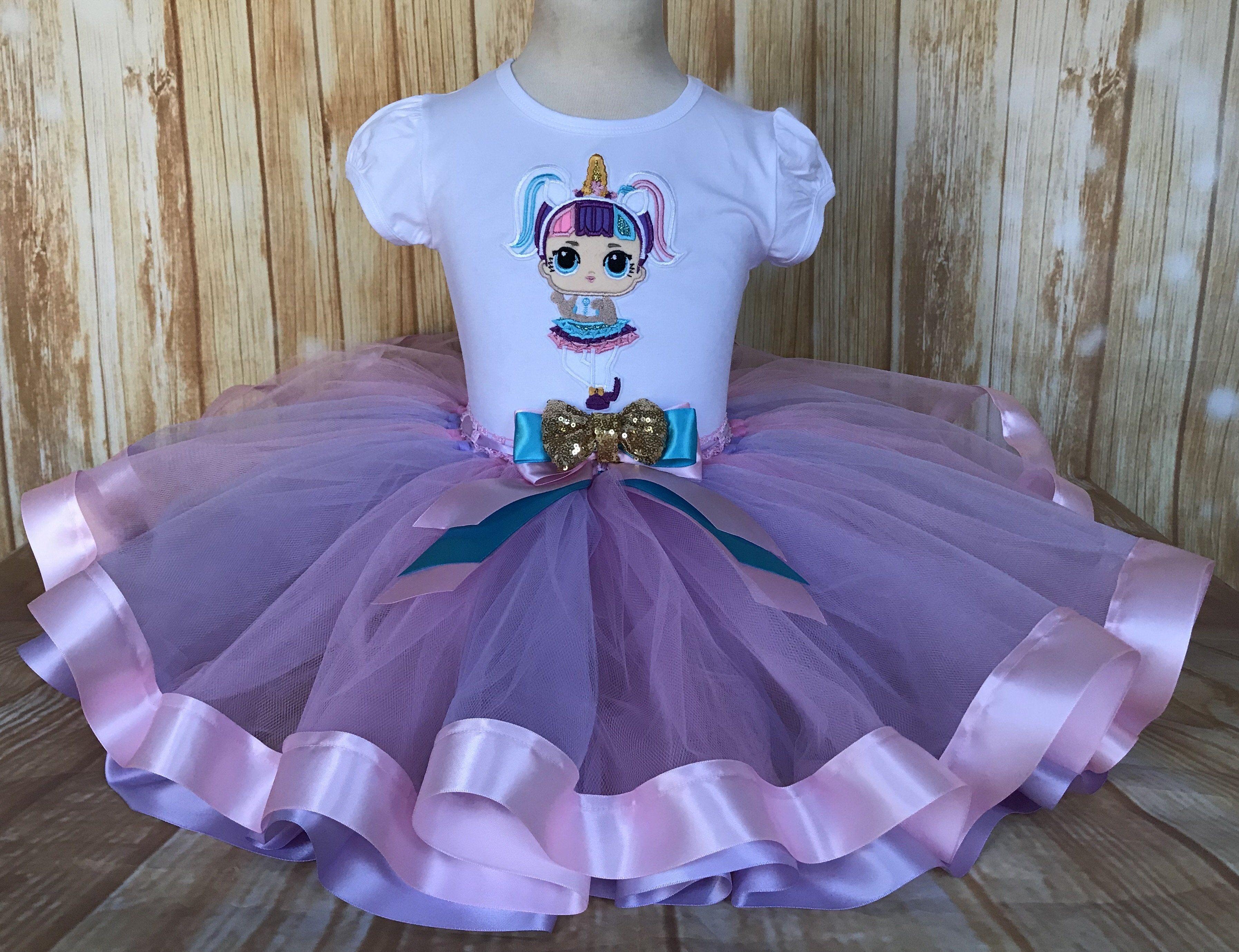 Lol surprise doll unicorn tutu set unicorn birthday