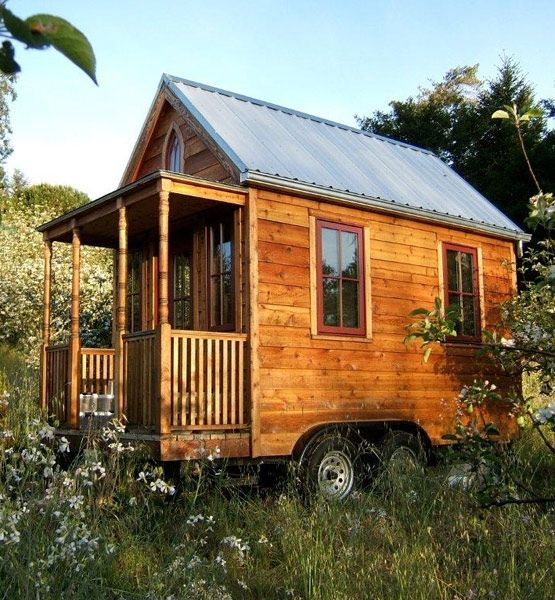 Tumbleweed Tiny House Cottages: Get The Cozy Cabin You've Always Dreamed Of In This 8-by