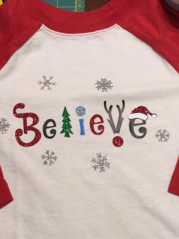 Believe Christmas Svg Cuttable Design Free Silhouette Cameo Christmas Cutting Tables Christmas Svg