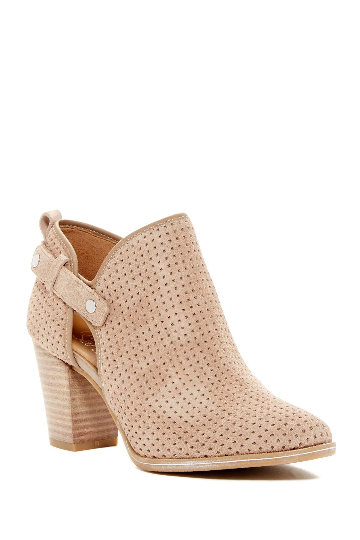 0a4cfb94a Dakota Perforated Bootie | Products | Franco sarto, Boots, Booty