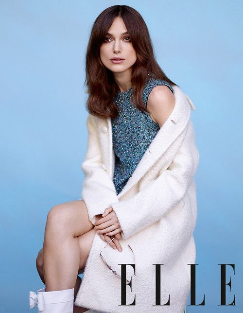 Keira Knightley in June Elle UK