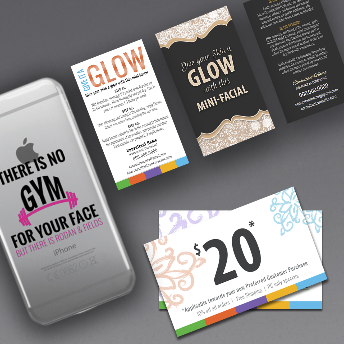 make your own business cards for direct sales consultants, many ...