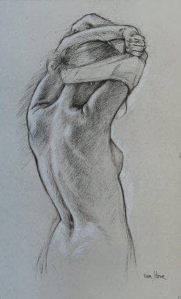 Por Amor Al Arte Francine De Van Hove Pencil Drawing In 2018