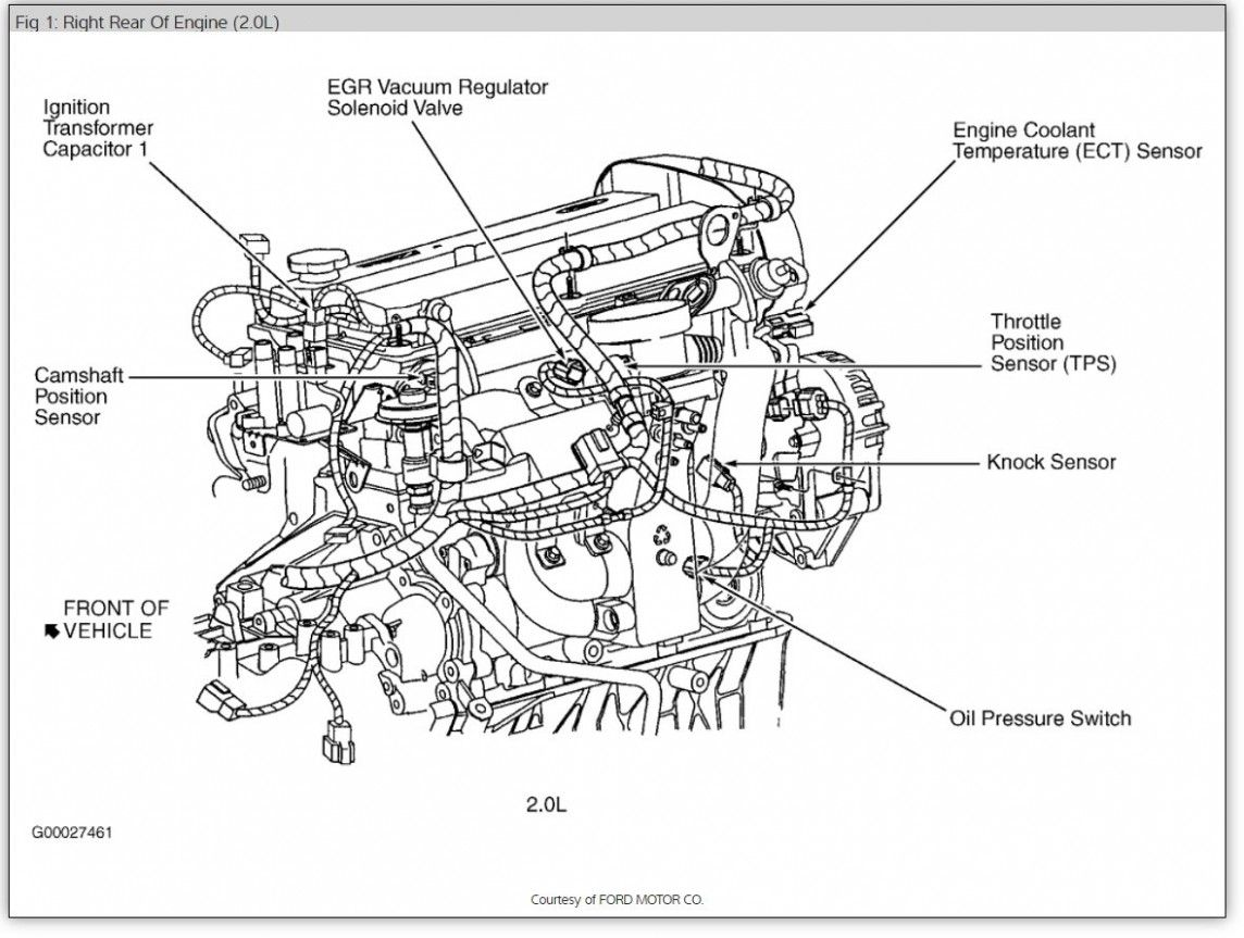 Engine Diagram 6 Ford Escape Up In