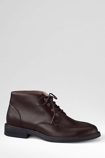 Men's Clifton Dress Laceup Boots from Lands' End