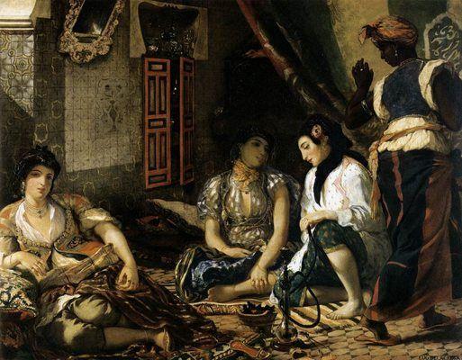Women of Algiers, by Eugène Delacroix