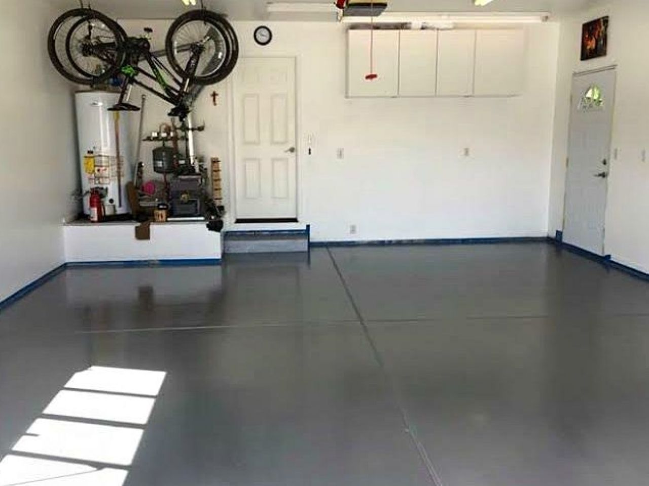 concrete garage to epoxy garages best how the paint floor iimajackrussell