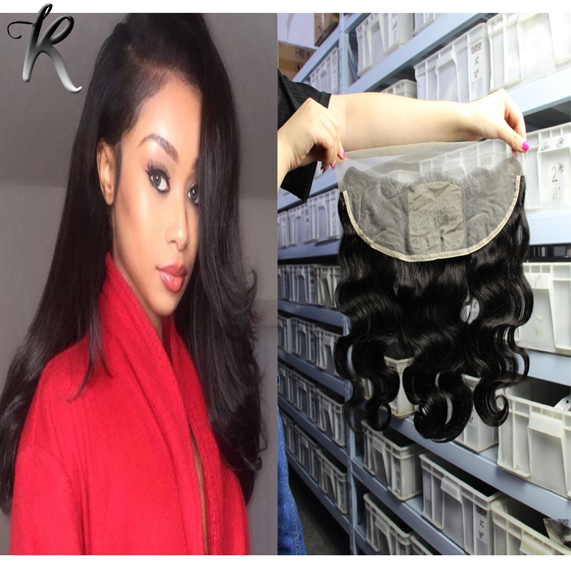 71.17$  Watch now - http://alip54.worldwells.pw/go.php?t=32696537806 - Silk Base Frontal Body Wave Malaysian Virgin Hair Lace Frontal Swiss Lace 13x4 Lace Frontal Silk Base Closure Bleached Knots 71.17$