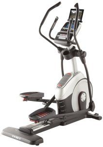 The Proform 1110 E Elliptical Trainer Sleek Design Meets Smart Technology Helping You Reach Your Fitne No Equipment Workout Elliptical Trainer Workout Machines
