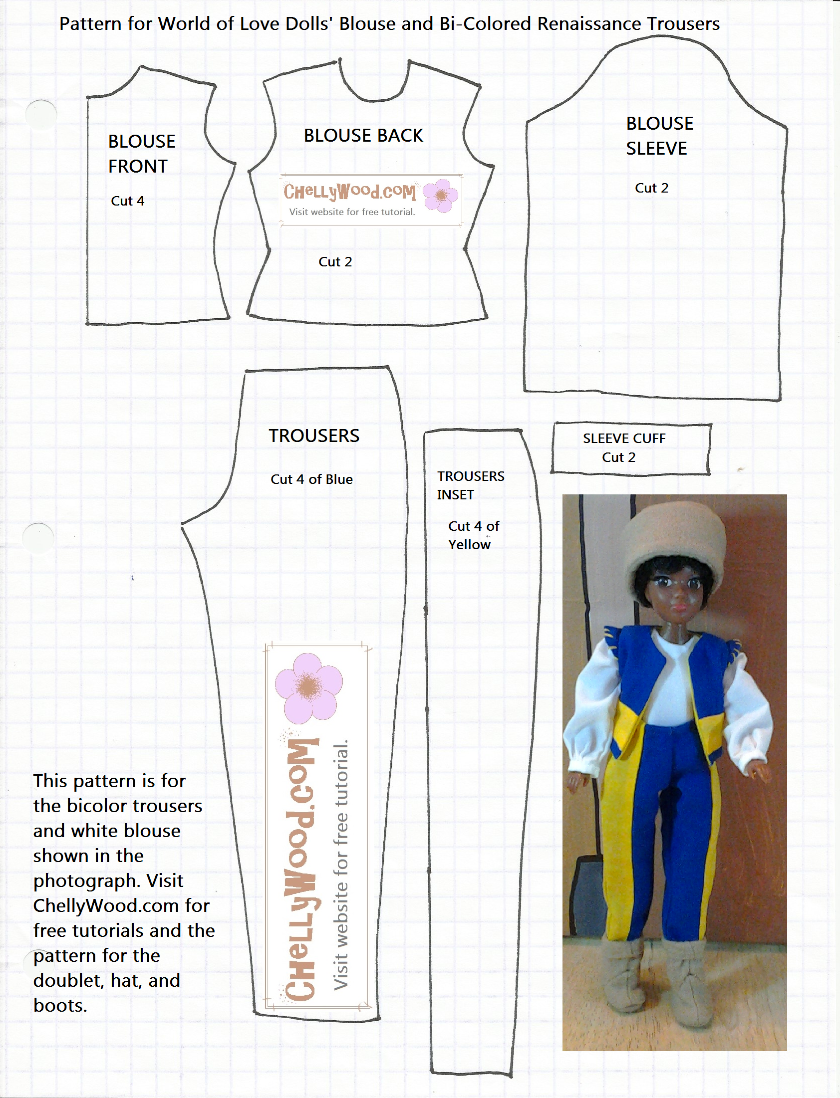 photo about Free Printable Ken Doll Clothes Patterns referred to as Impression end result for cost-free printable ken doll outfits types