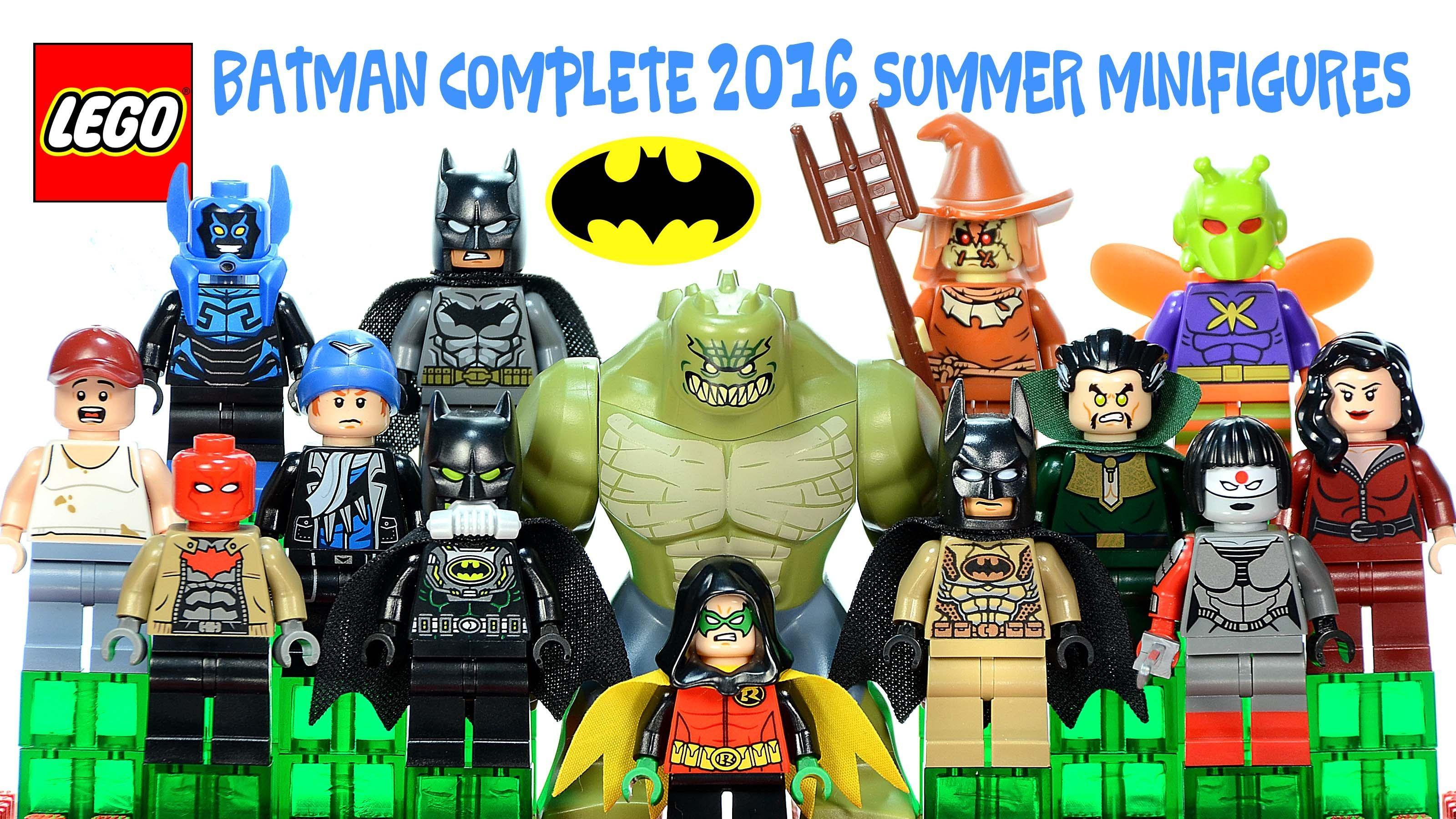Lego Batman Mini Figures range of figures