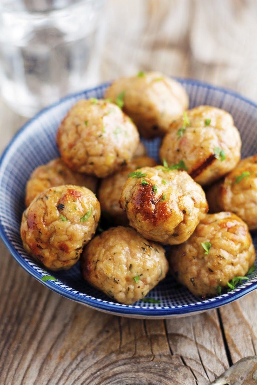 Mom's Baked Turkey Meatballs