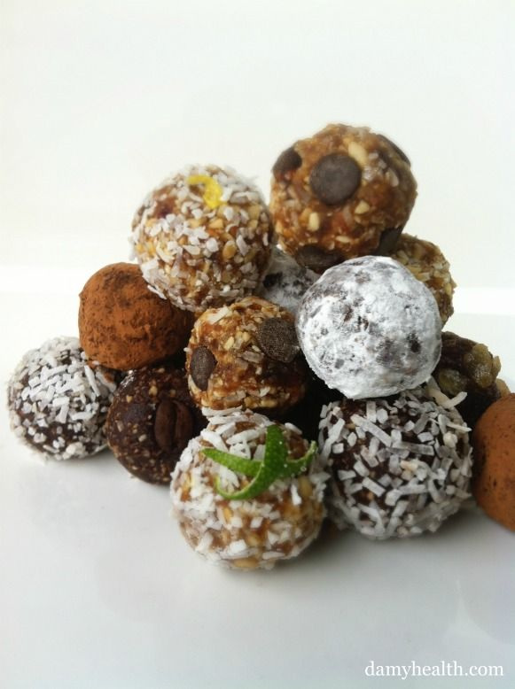 Healthy Truffles, Chocolates and Raw Cookies | consumption ...