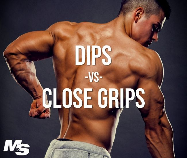 Narrow Grip Bench Presses Part - 31: Which Builds Bigger Triceps: Dips Or Close Grip Bench Press? This Article  Pits Two