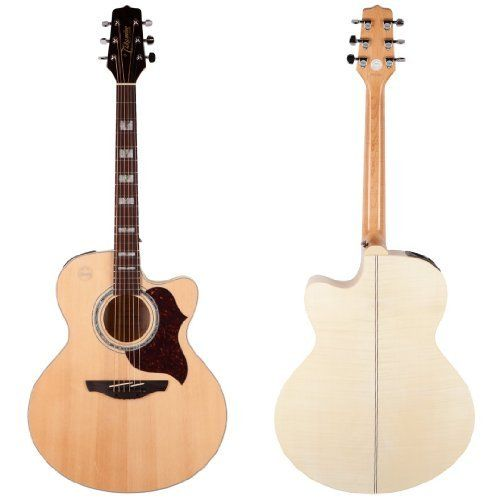 Takamine G Series Eg523sc Jumbo Acoustic Electric Guitar Natural