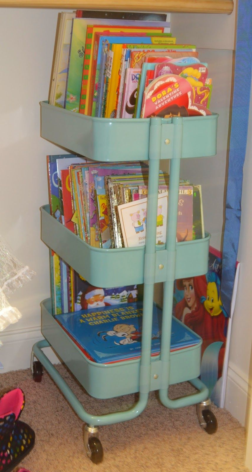 The O.C.D. Life Childrenu0027s Book Storage! & The O.C.D. Life: Childrenu0027s Book Storage! | Storage Ideas ...