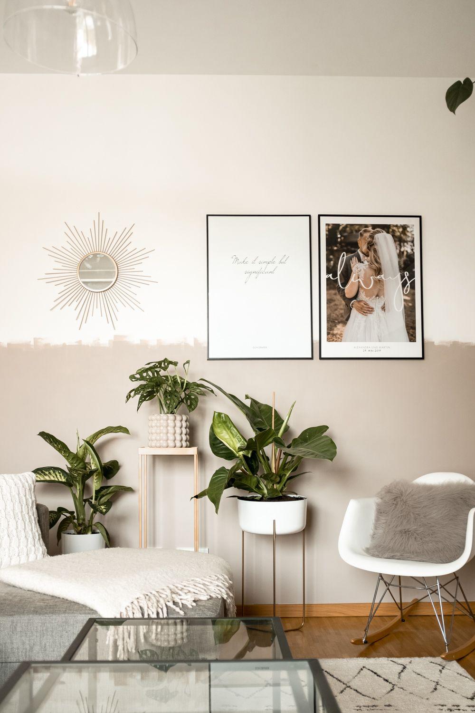 Anzeige Wir Haben Unser Wohnzimmer Umgestaltet Und Die Hellgraue Wand Gegen Eine Kreative Wandgestaltun Mit Bildern Schoner Wohnen Farbe Schoner Wohnen Wohnzimmer Wohnen