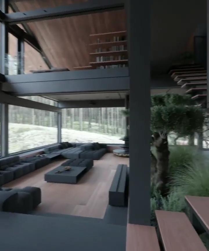 Modern Luxury Cabin in the Woods- Part 2
