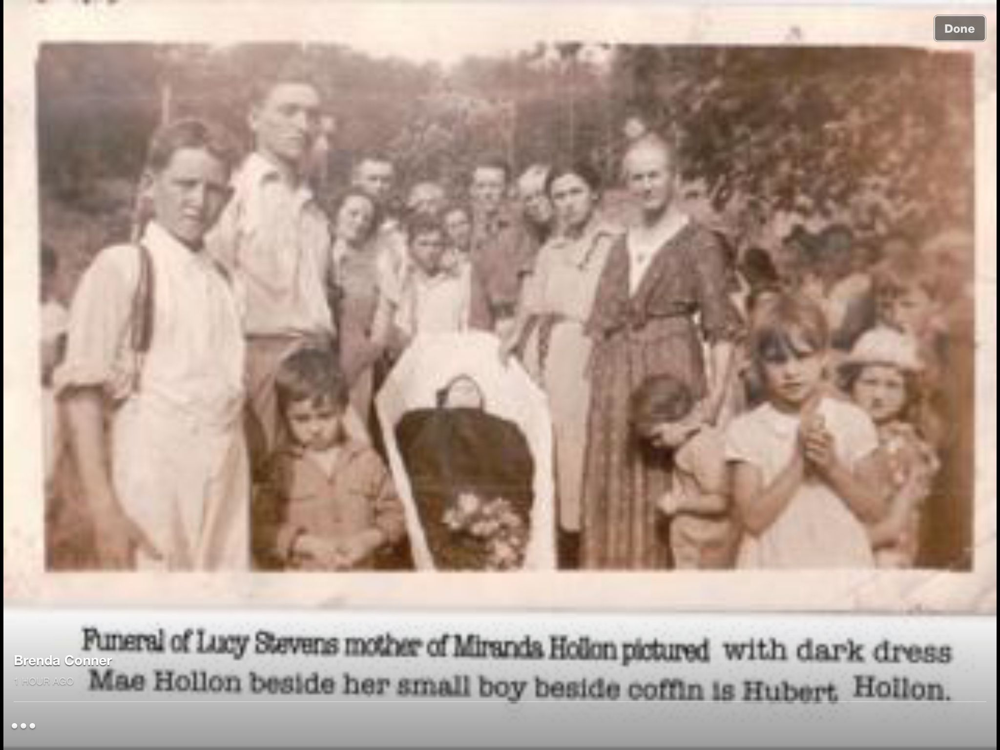 1938 jackson, Ky My great, great grandmother carried up a