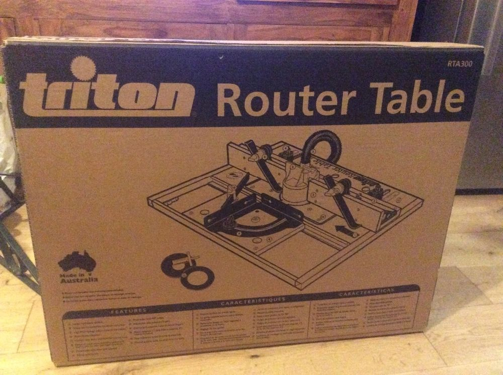 Triton router table triton router table router table and triton a brand new unopened router table it was an unwanted christmas present ebay greentooth Image collections