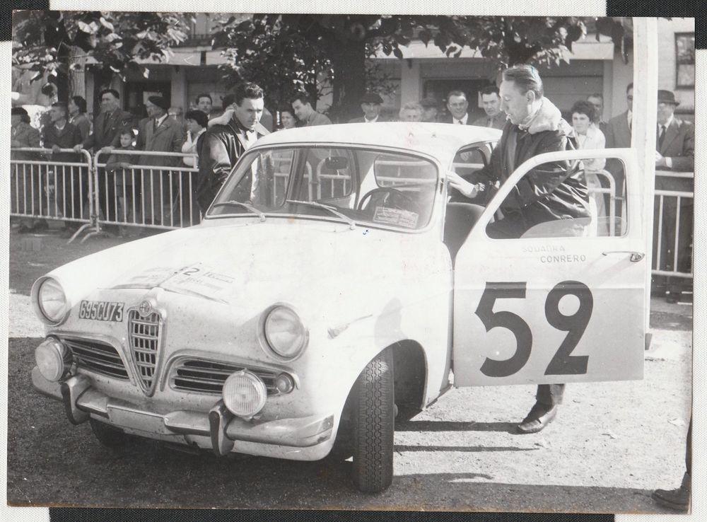 ALFA ROMEO GIULIETTA TI BERLINA TOUR DE FRANCE 1960
