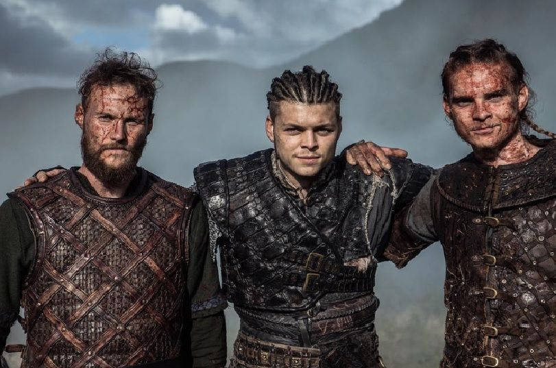 Ubbe, Ivar and Hvitserk | Vikings | Vikings, Vikings show, Vikings