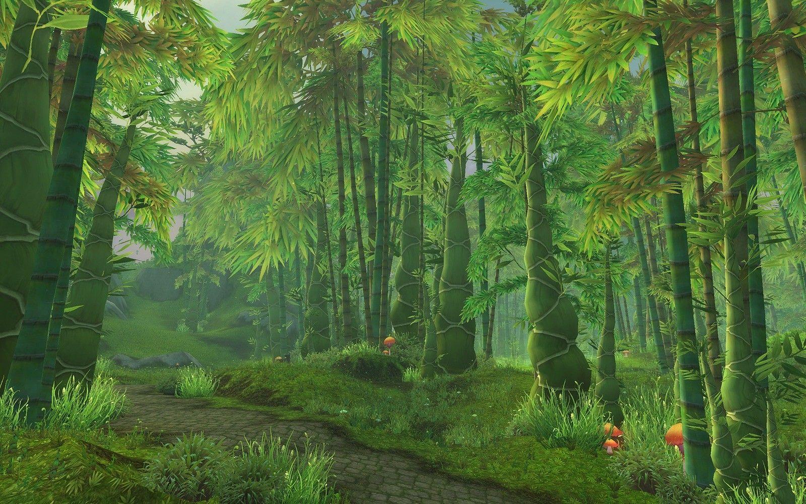 Jungle Wallpaper World Of Warcraft: World Of Warcraft: Mists Of Pandaria