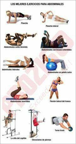 formas de hacer abdominales