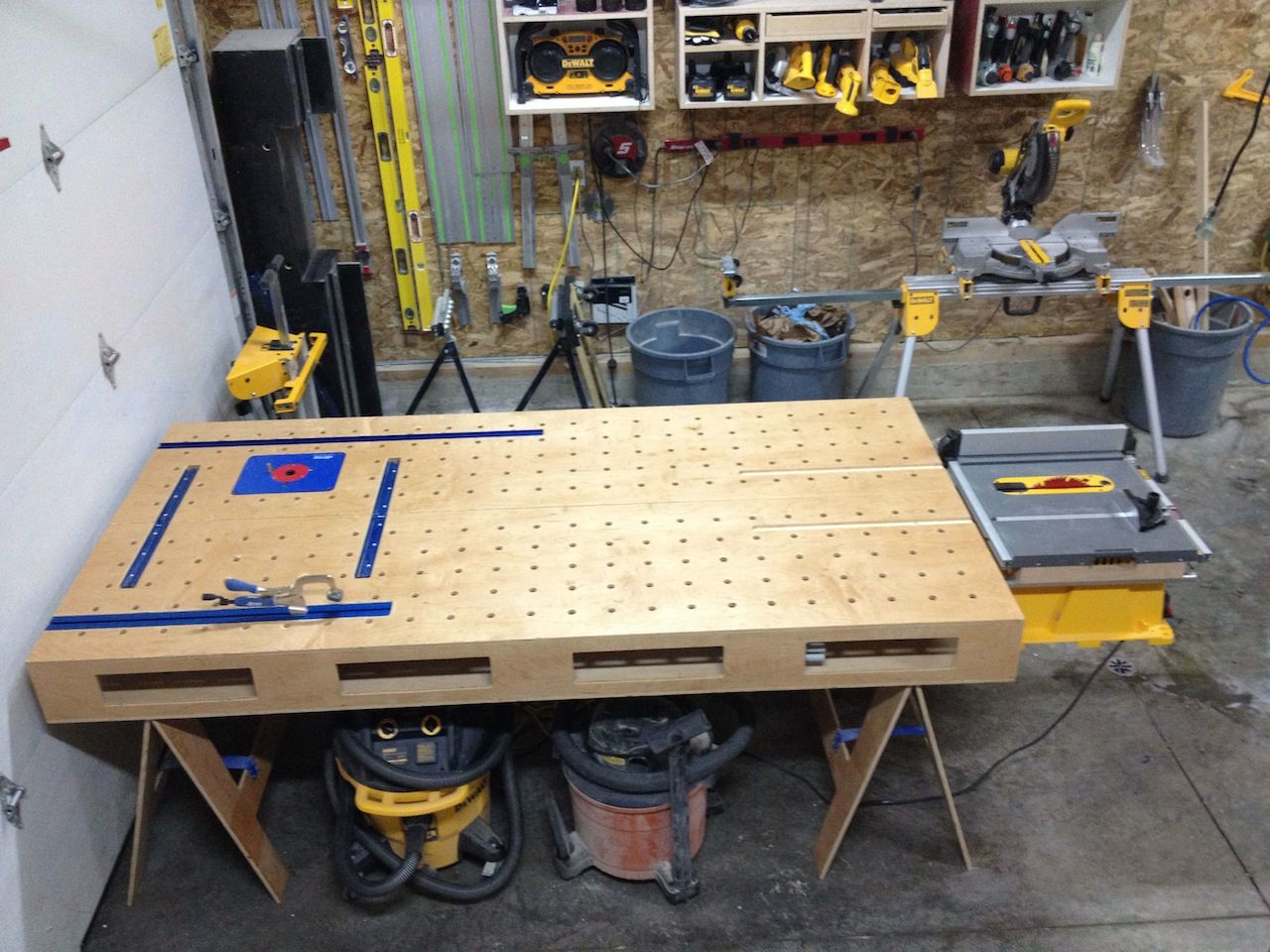 Ron paulk router bench google search wood working for Router work table