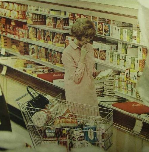 """suburbman:  What's For Dinner?…1968   """