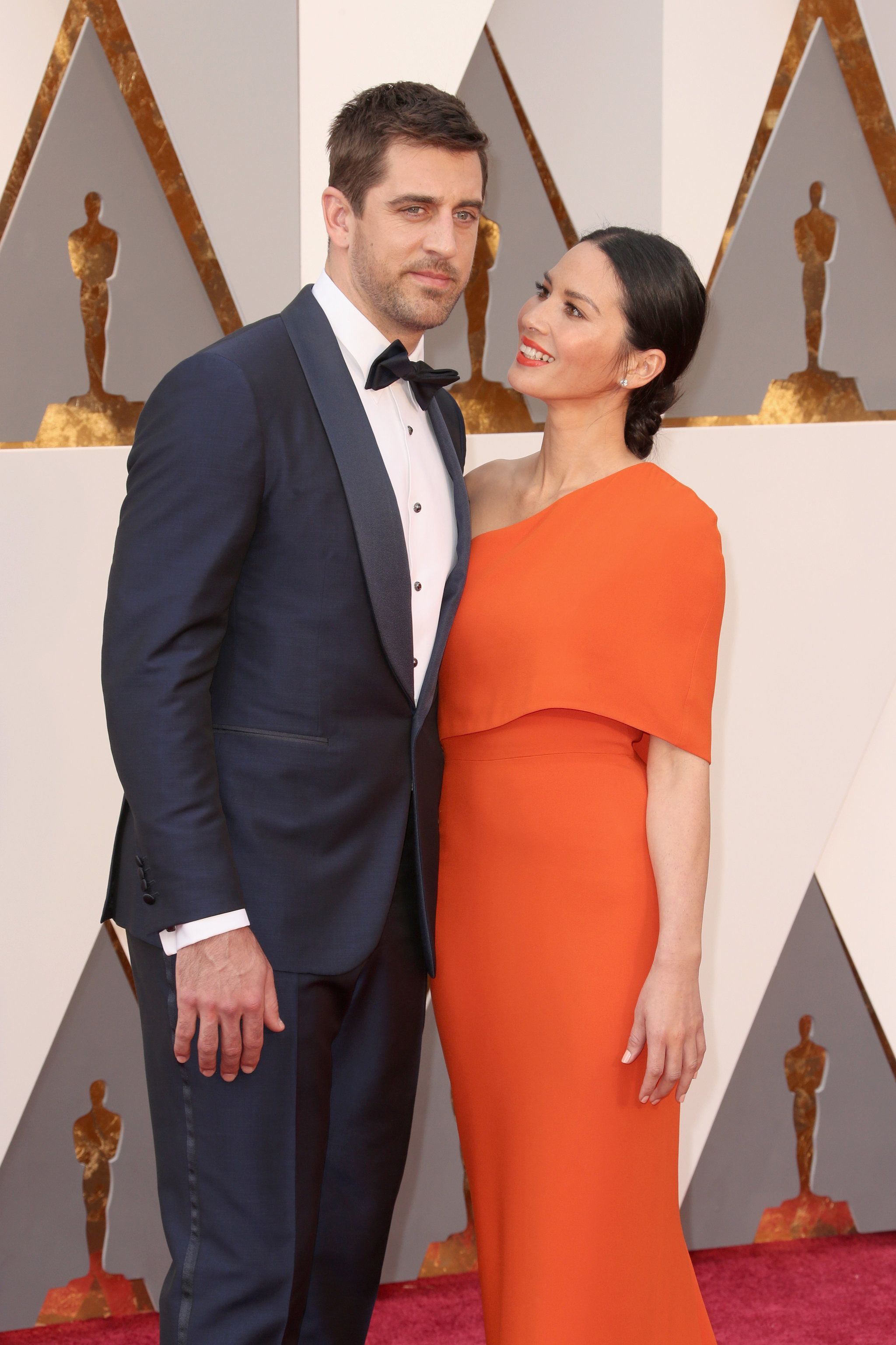 Aaron Rodgers And Olivia Munn Olivia Munn Stella Mccartney Dresses Celebrity Couples