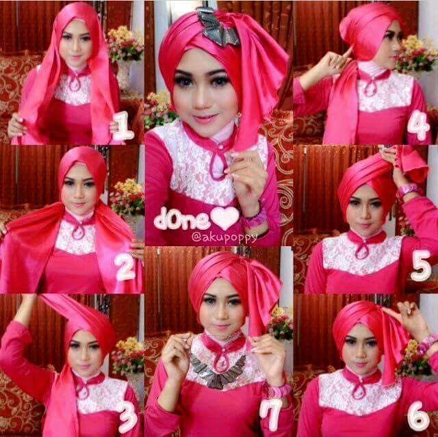 Pashmina Kursus Hijab Pesta Pernikahan Pesta