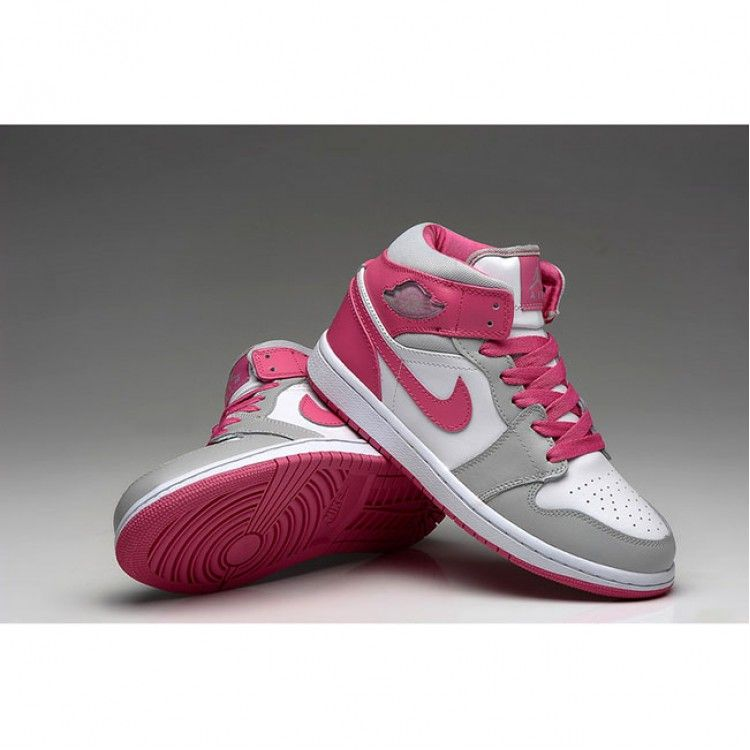 a59a80f25866f8 Find Air Jordan 1 Retro White Pink Grey WoShoe | AIR JORDAN in 2019 ...