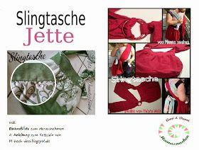 Mama Nähblog: Freebook Schnittmuster Slingtasche