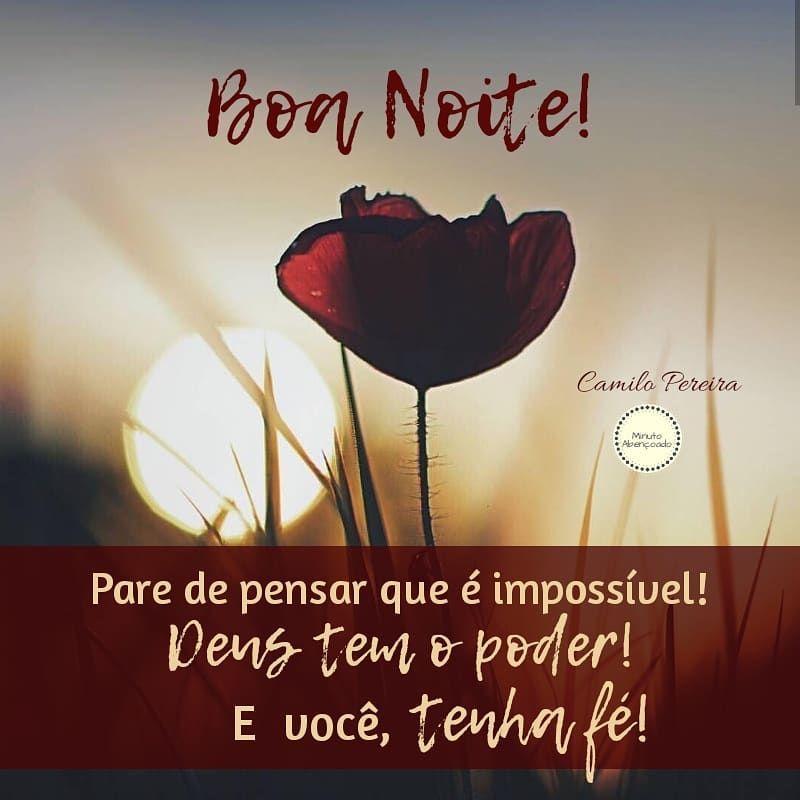Boa Noite! Bons sonhos! 🕊🌙🌚 #minutoabencoado (com imagens ...