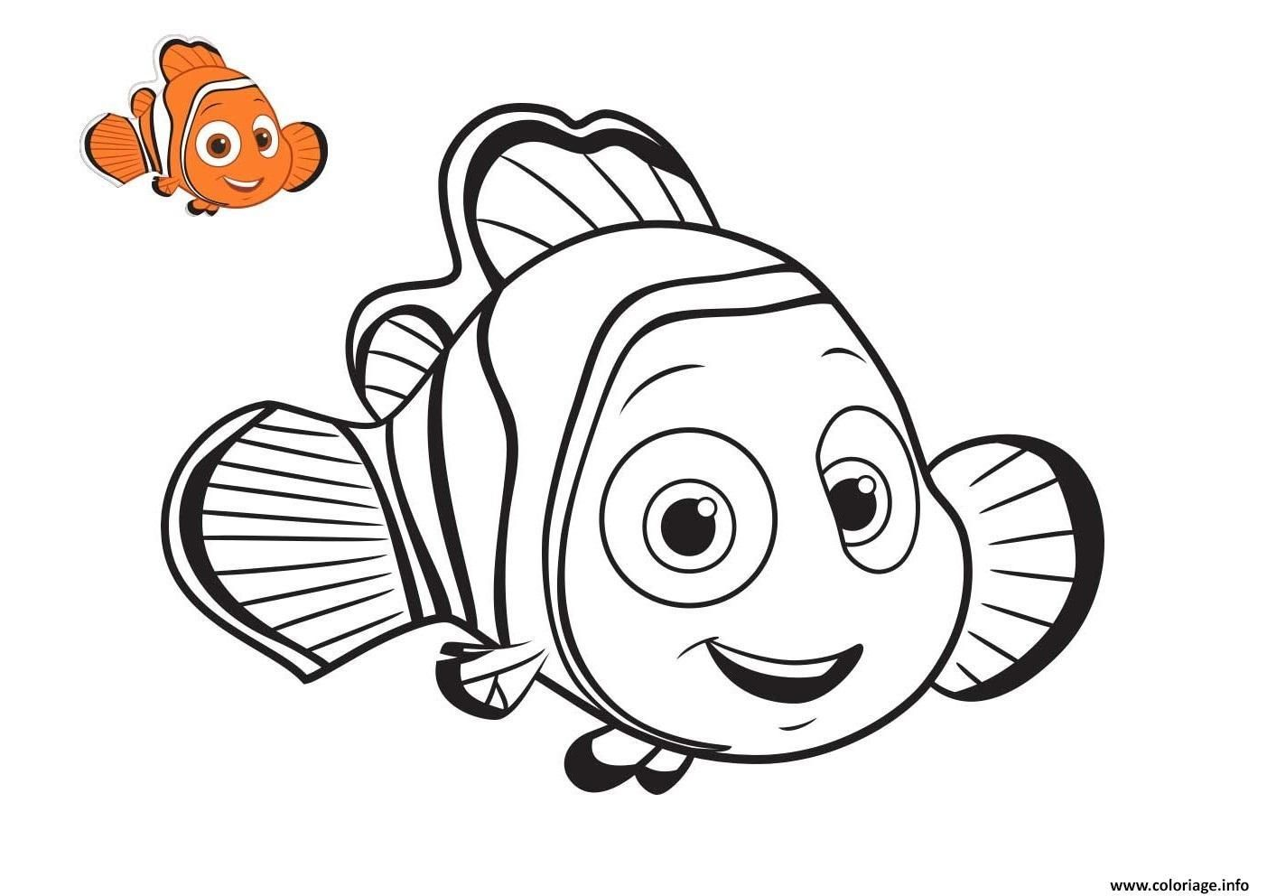 28 Coloriage A Imprimer Nemo in 28  Nemo coloring pages, Finding