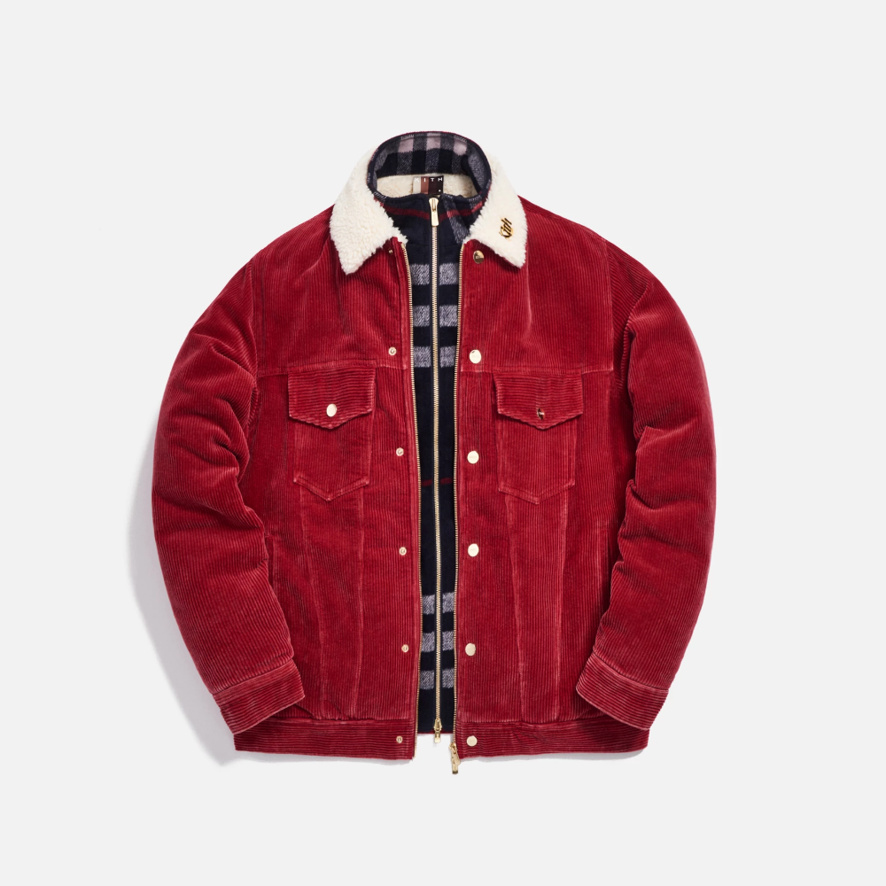 Kith Corduroy Laight Jacket Red Jackets Red Jacket Corduroy [ 1000 x 1000 Pixel ]