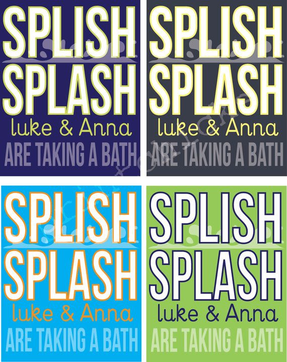 Splish Splash Im Taking A Bath : splish, splash, taking, Custom, Print, Unisex, Splish, Splash, Taking, PrintChicks,, .00, Bath,, Splash,, Bathroom
