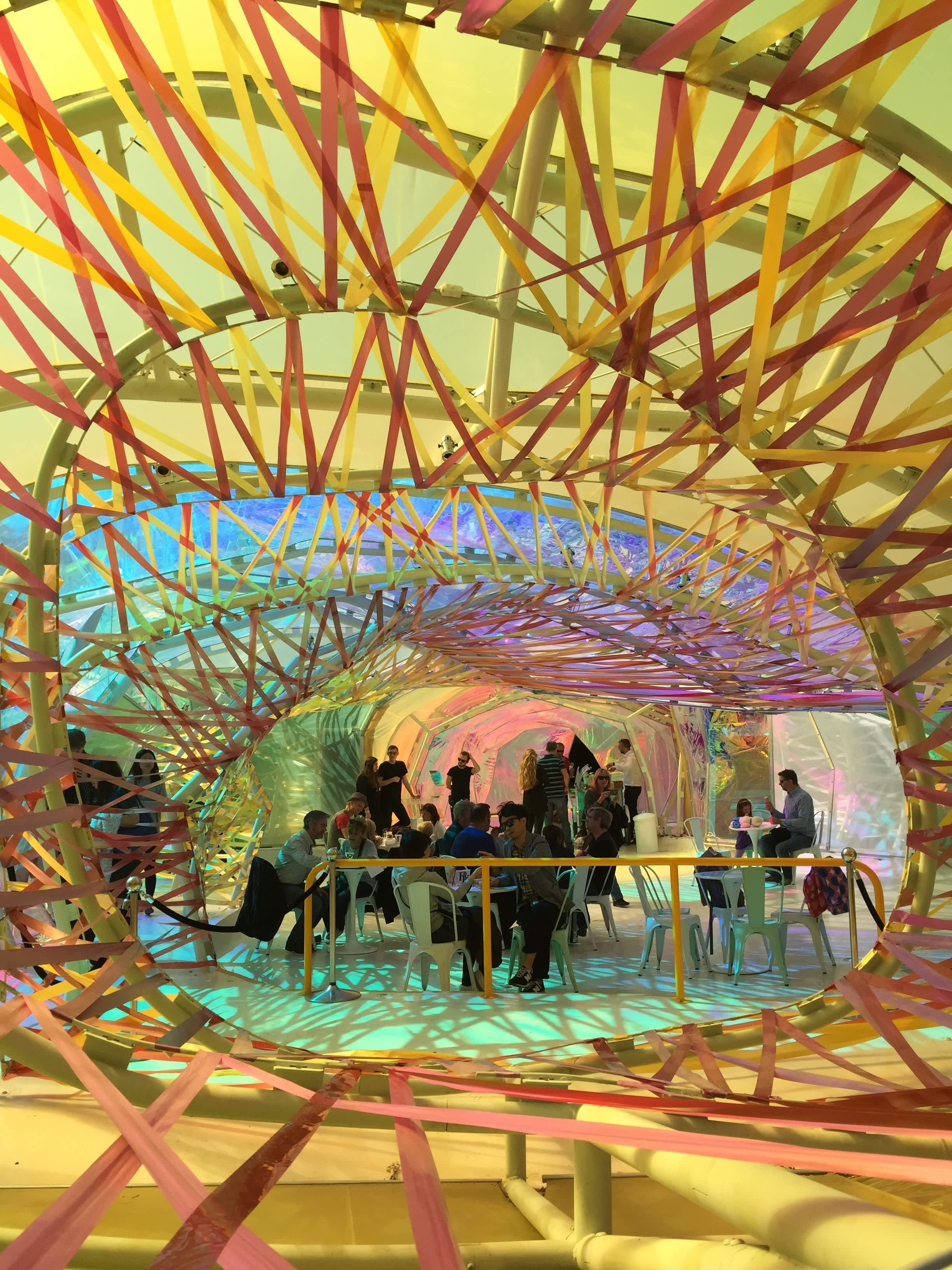 Amazing Architecture London's 2015 Serpentine Pavillion