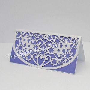 Flowers  Hearts Table Place Card Template  Cricut Ideas