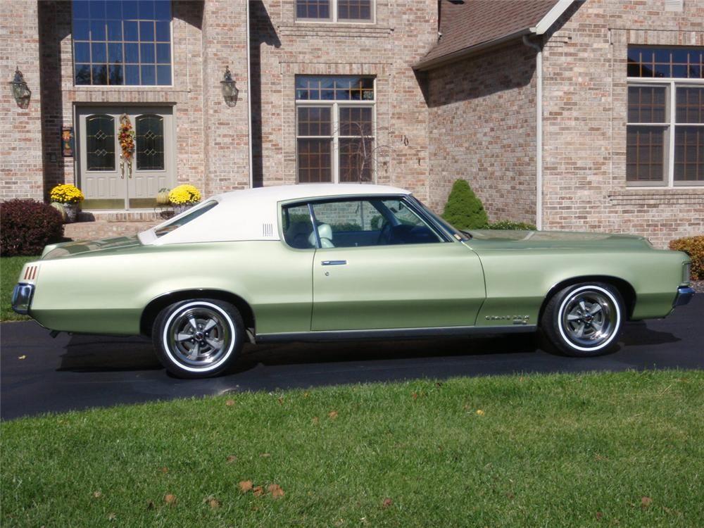 1969 Pontiac Grand Prix 2 Door Coupe Side Profile 70639 Pontiac Grand Prix Pontiac Pontiac Cars