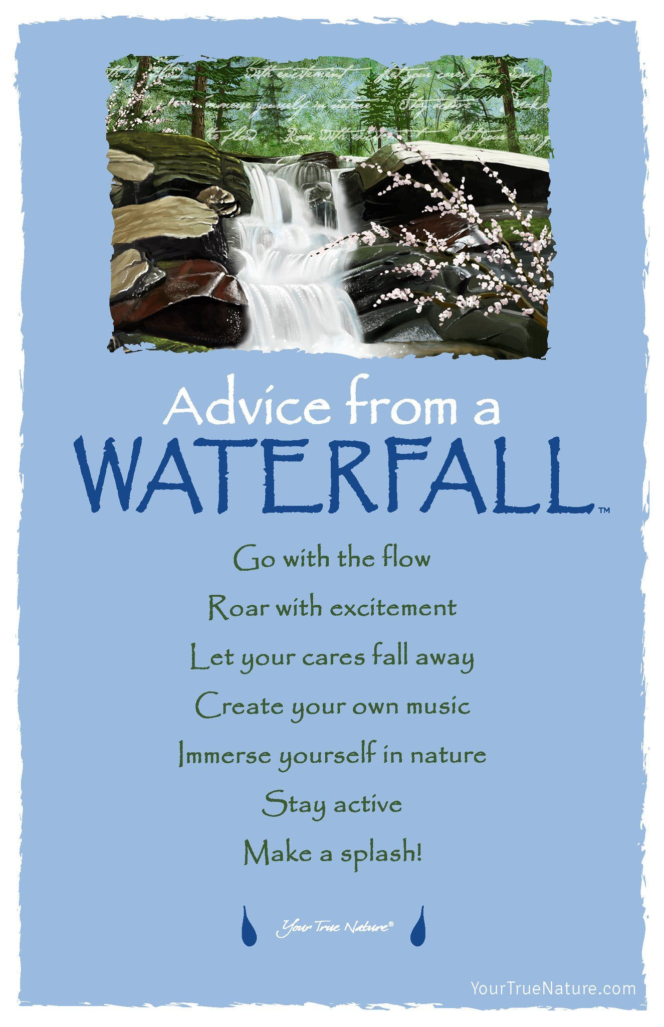 Advice From A Unicorn Frameable Art Card Your True Nature Inc