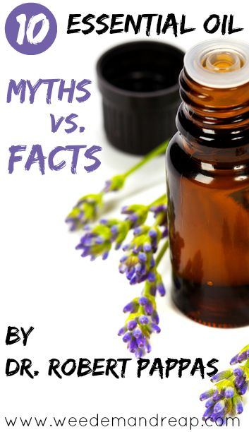 10 Essential Oil Myths Vs Facts By Dr Robert Pappas Essential