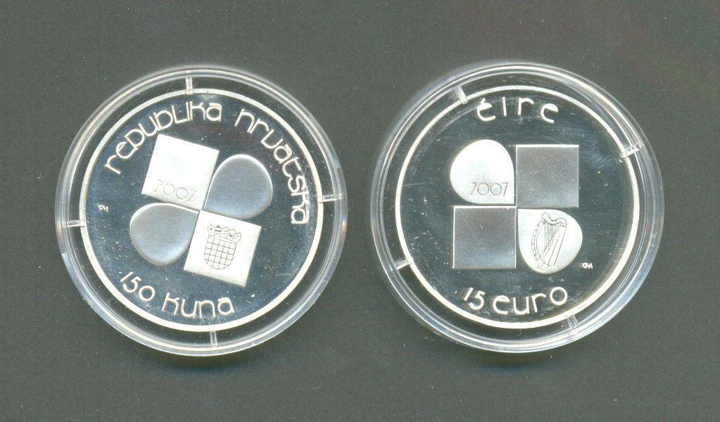 CROATIA  25 Kuna 2010 UNC  EBRD low price  // Zagreb  BIMETALIC COIN