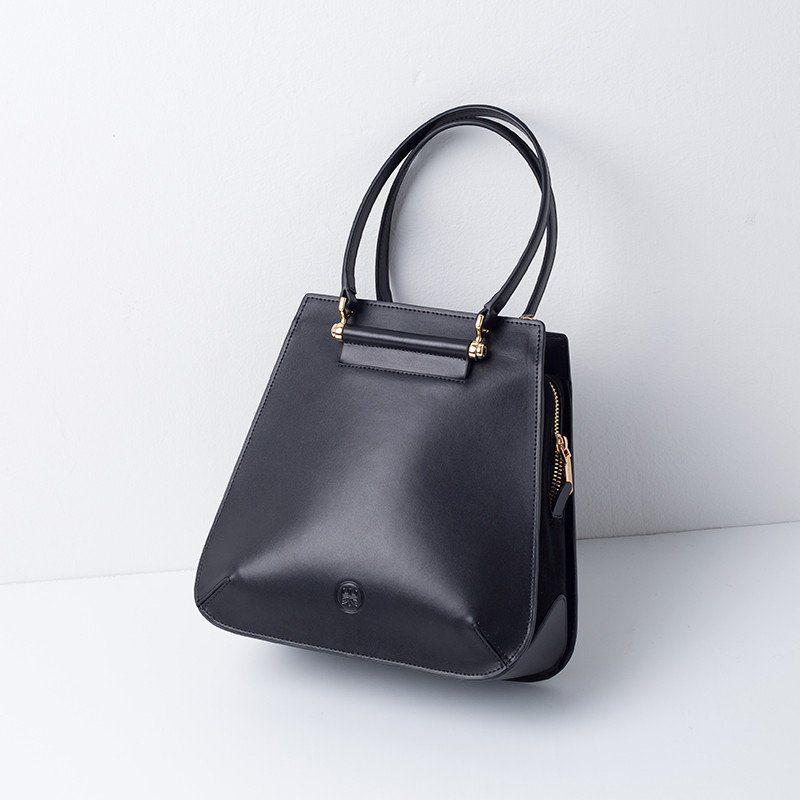 Shop Latest Small Diana Leather Designer Handbag for Fall 2016 Online-Black 74b6bec1d2032